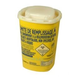 Container pour lames de rasoirs