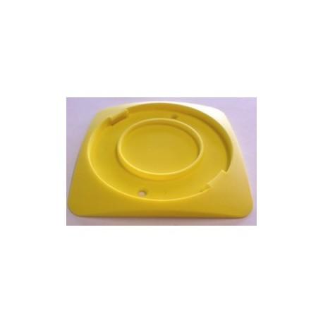 Support de fixation container lames de rasoirs