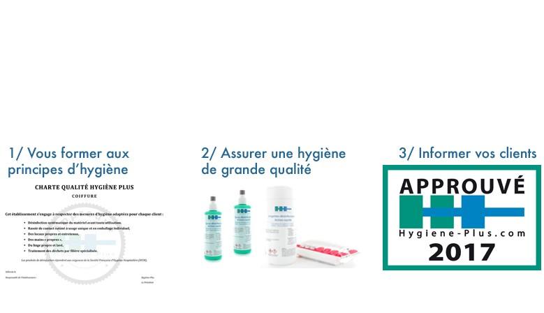 Charte d'hygiène pour les professionnels de la beauté