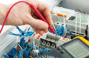 vérifications installations électriques salon de coiffure institut de beaute ERP